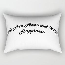 Inspirational Anointed Verses Rectangular Pillow