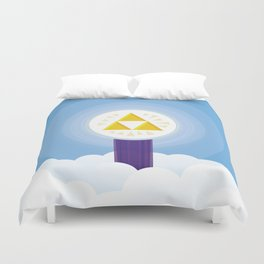 The Creation of Hyrule Duvet Cover