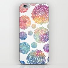 Watercolor Flowers iPhone Skin