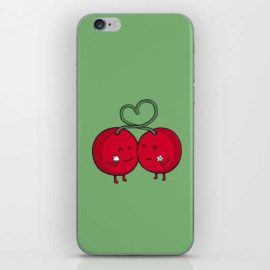 Cherry Love iPhone & iPod Skin