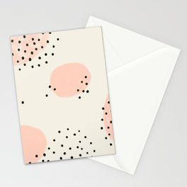 Spotted Pink Stationery Cards