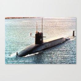 USS ULYSSES S. GRANT (SSBN-631) Canvas Print