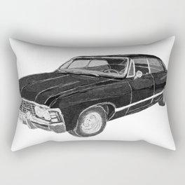 '67 Chevy Impala (w/o background) Rectangular Pillow