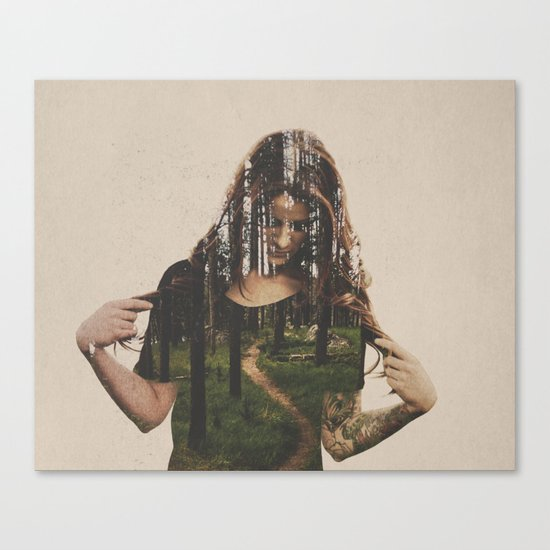Became Canvas Print