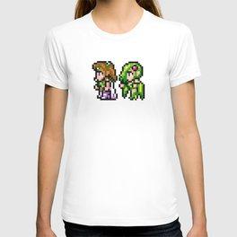 Final Fantasy II - Rosa and Rydia T-shirt