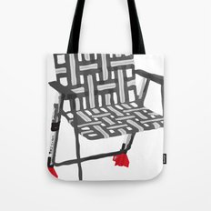 rocket launcher (rocket lawnchair). Tote Bag