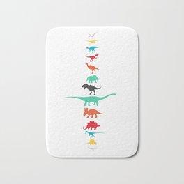 The Dinosaur lineup Bath Mat