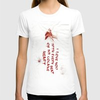 cocaine T-shirts featuring COCAINE LOVE by Beauty Killer Art