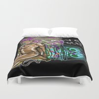 hip hop Duvet Covers featuring Hip Hop Music beat by Just Bailey Designs .com