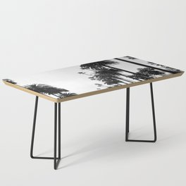 Los Angeles Black and White Coffee Table