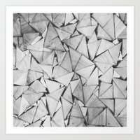 TriWood Art Print