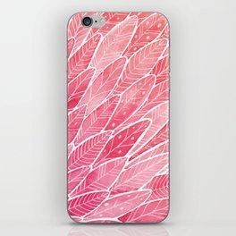 Pink Angel Wings iPhone Skin