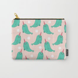 Narwhal Loves You Carry-All Pouch