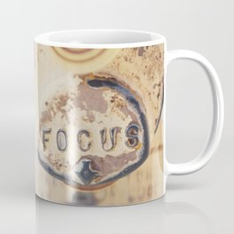 fo·cus ... Coffee Mug