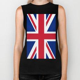 United Kingdom: Union Jack Flag Biker Tank