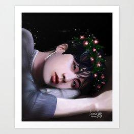 BTS - Jin Art Print