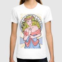 art nouveau T-shirts featuring Art Nouveau  by Brizy Eckert