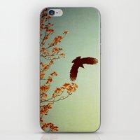 wings iPhone & iPod Skins featuring Wings by Alicia Bock