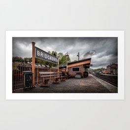 Bridgnorth Railway Station Art Print