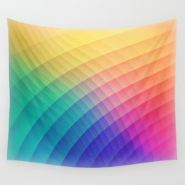 Spectrum Bomb! Fruity Fresh (HDR LGTP Rainbow Colorful Experimental Pattern) Wall Tapestry