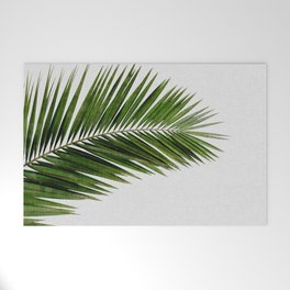 Palm Leaf I Welcome Mat
