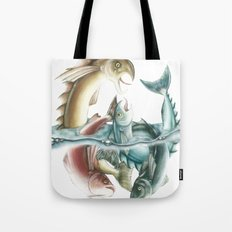 INKYFISH - Fish frenzy Tote Bag
