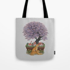 Bonsai Village Tote Bag