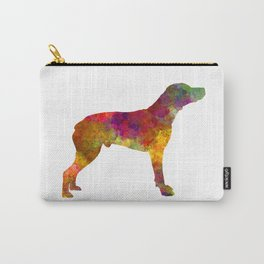 Bourbonnais Pointer in watercolor 2 Carry-All Pouch