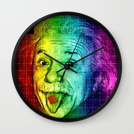 It's LSD, Einstein! Wall Clock