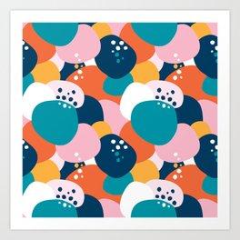 Blobby Art Print