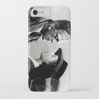 casablanca iPhone & iPod Cases featuring FRANKENSTEIN IN CASABLANCA by Luigi Tarini