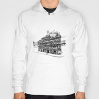 victorian Hoodies featuring Victorian Building by CRNS