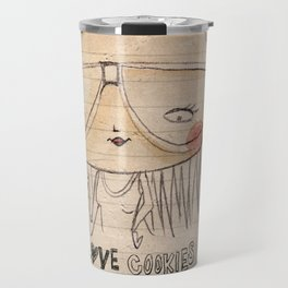 I love cookies! Travel Mug