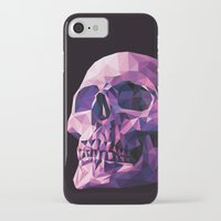 skull iPhone & iPod Cases featuring Skull by Roland Banrevi