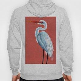 White Heron Hoody