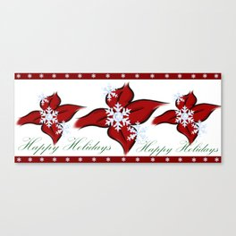 Happy Holiday's (Merry Christmas) (Season' Greetings) Canvas Print