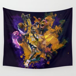 Lakers Legend Wall Tapestry