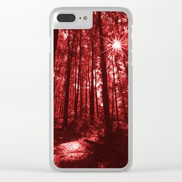 Shenandoah Red Clear iPhone Case