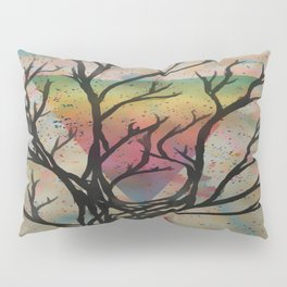 Colors through the trees Pillow Sham