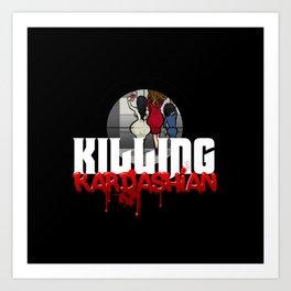 Killing Kardashian Sniper Logo Art Print