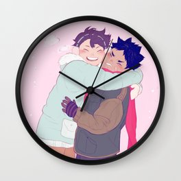 tiny iwaois Wall Clock