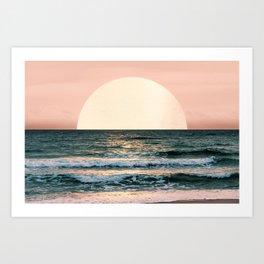 Summer Sunset Kunstdrucke