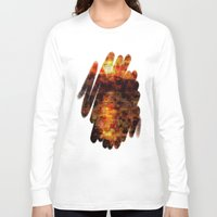 sunset Long Sleeve T-shirts featuring Sunset  by Aloke Design