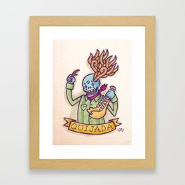 Quijada Framed Art Print