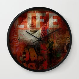 Watch his life Wall Clock
