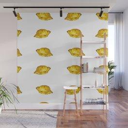 Lemony mood Wall Mural