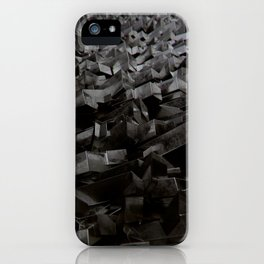 Black Steel iPhone Case