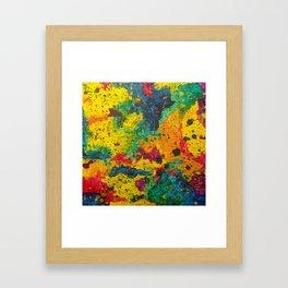 Rainbow Abstract #18 Framed Art Print