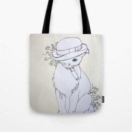 Bad Cat Tote Bag