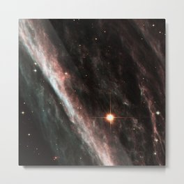 Pencil Nebula Metal Print
